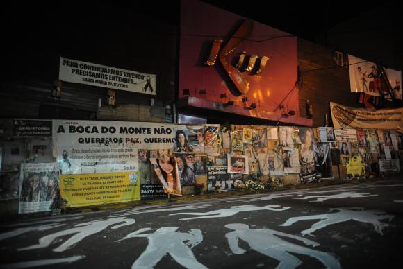 Santa Maria (RS) - Incêndio na Boate Kiss completa três anos no dia 27 de janeiro. No episódio, 242 jovens morreram Fernando Frazão/Arquivo Agência Brasil