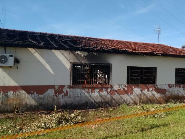 Vizinhos acionaram o Corpo de Bombeiros (Foto: Natalino Batista de Oliveira/Cedida)