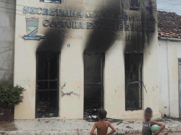 Caso ocorreu 12 dias após suposto incêndio criminoso em hospital da cidade (Foto: Divulgação/Prefeitura de Boa Vista do Tupim)