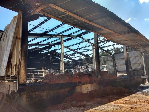 Chamas foram controladas pelos bombeiros de Capão Bonito, Itapetininga e Itapeva (Foto: Divulgação/Corpo de Bombeiros)