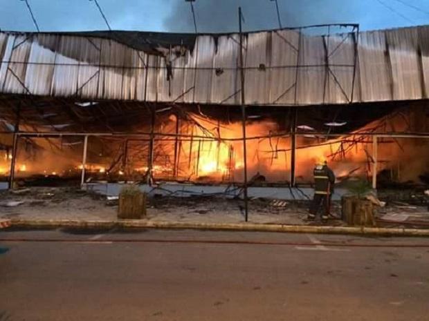 Shopping Summer não tinha seguro Foto: Jacson Daniel Dias Alves / Arquivo Pessoal