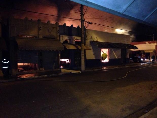 No local funcionavam cinco lojas (Foto: Giliard Barros/ Arquivo pessoal)