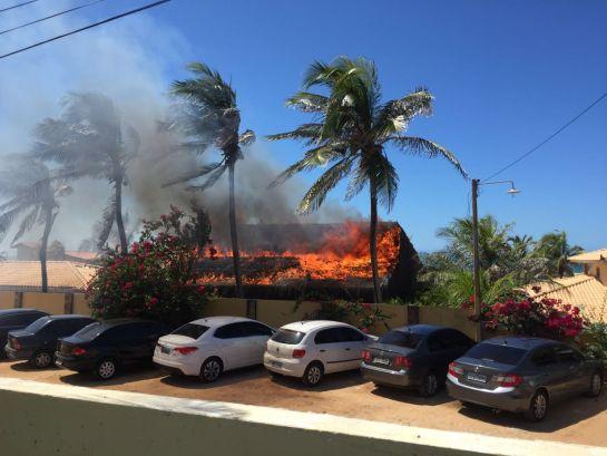 Causas do incêndio ainda são desconhecidas.
