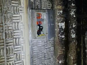Fogo teria começado em central de ar-condicionado (Foto: Corpo de Bombeiros/Divulgação)