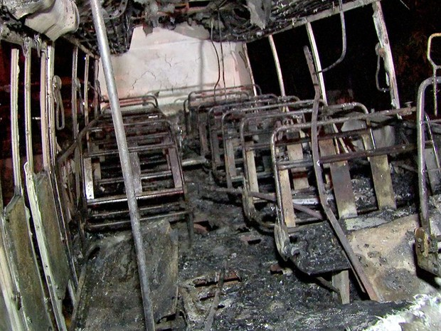 Vigilantes do depósito chamaram os bombeiros em Cuiabá (Foto: Reprodução/TVCA)